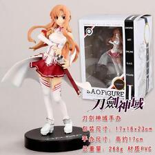17cm Sword Art Online Yuki Asuna Painted PVC Action Figure Anime Figurine AU