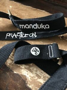 Manduka Journey On Collection The Commuter Hands-Free Yoga Mat Sling Black