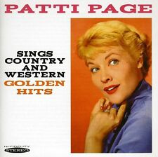 Sings Country & Western Golden Hits - Patti Page (2012, CD NUOVO)