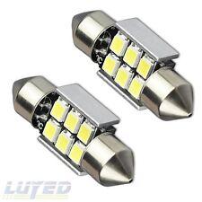 LUYED 2 X Error Free 1.25 inches DE3175 DE3021 DE3022 3175 LED Bulb,White