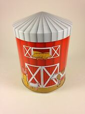 MUSICAL STOCKMEYER COOKIE TIN - OLD MAC DONALD HAD A FARM - BARN SCENE