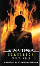 """Star Trek Excelsior: Forged in Fire"" by Martin & Mangels (2008 paperback)"