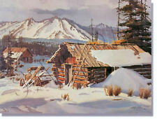 "*** ""WINTER IN THE ROCKIES"" LIMITED EDITION PRINT BY JAMES BOREN***"