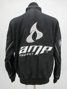 P5557 VTG AMP Energy Men's Full-Zip NASCAR Racer Jacket Size L