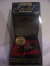 Matchbox, Corvette Stingray Iii, Gold Coin Collection Car