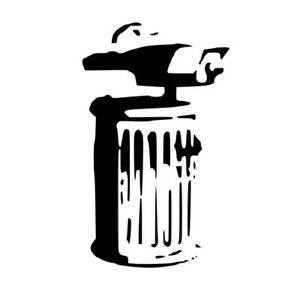 BANKSY TRASH CAN  STENCIL REUSABLE FROM A4 180 micron