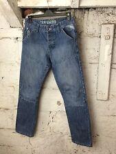 Men's Enzo Denim Jeans Urban Gay Classic Blue Man Style 30 / 30 (1576)