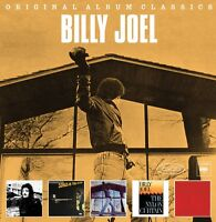 BILLY JOEL 5CD NEW Cold Spring Harbor/Glass Houses/Songs Attic/Nylon/Концерт