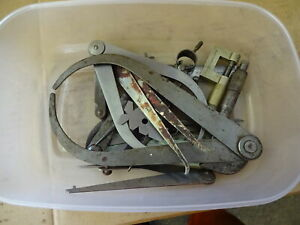 Measuring equipment including calipers, thread gauge etc.