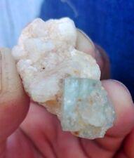 Wow Terminated 80 crts 100%Natural Aquamarine crystal   of pakistan