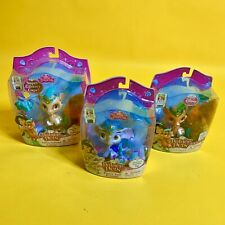 Lot Of 3 Disney Palace Pets Sultan Glitzy Glitter  Princess Jasmine Toy NEW