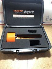 SALISBURY Self Testing Audio/Visual A.C. Voltage Detector W/ Case