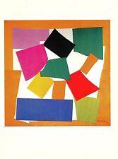 """1973 Vintage MATISSE """"THE SNAIL (L'ESCARGOT)"""" COLOR Art Print offset Lithograph"""