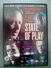 State Of Play (DVD, 2011) Rachel McAdams, Rachel McAdams