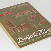 Cigarette Card Album GERMAN Homeland NORTH 96 cards Germany Book Berlin Dresden