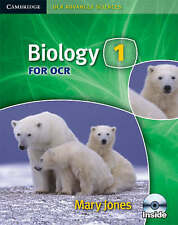 Biology 1 for OCR by Mary Jones (Mixed media product, 2007) AS TEXTBOOK