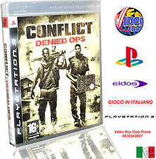CONFLICT : DENIED OPS NUOVO VERSIONE ITALIANA SONY PS3