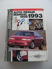 USED CHILTON'S AUTO REPAIR MANUAL 89-93 (#7909)