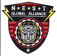 "Transformers NEST Global Alliance Logo 4"" Uniform Patch- FREE S&H (TRPA-16)"