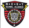 "Transformers NEST Global Alliance Logo 4"" Uniform Patch- FREE S&H (TRPA-16)"