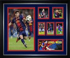 Lionel Messi Signed Framed Memorabilia