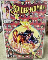 SPIDER-WOMAN #5 RIAN GONZALES SPIDER-MAN #300 HOMAGE VARIANT *NM*
