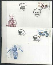 Slovakia 2014 Transport, Motorcycles FDC