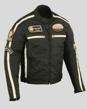 Blousons noirs en armure homologué CE pour motocyclette