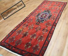 OLD WOOL HAND MADE PERSIAN ORIENTAL FLORAL RUNNER AREA RUG CARPET 326 X 120CM