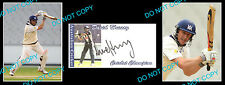 DAVID HUSSEY AUST CRICKET STAR SIGNED COVER +2 PHOTOS