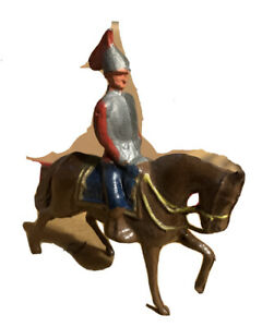 RARE PRE WAR BRITAINS SET # 138 FRENCH CUIRASSIERS TOY SOLDIERS