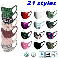 3D Love Printed Mask Reusable Washable Face Mask Fashion Cloth Lady