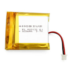 3.7V 820mAh Upgraded Battery for Mobius Action Sport Camera **FREE SHIPPING**