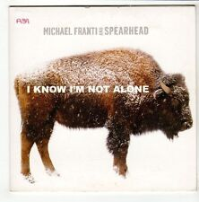 (GO587) Michael Franti And Spearhead, I Know I'm Not Alone - 2008 DJ CD