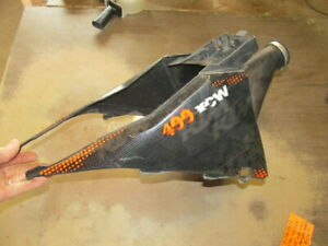 2009 KTM 400 XCW OEM Complete Air Box W/ Twin Air Filter & Both Side Covers