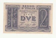 Italia 2 lire 1939  impero FDS  488  518015  pick 27  rif 2374