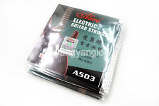 10 Pack A503L/013 Electric Guitar Strings 2nd B-2 Single Plated Steel Strings