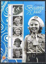 Nederland 2013 3012 serie Beatrix 75 jaar 5 vellen - Royalty