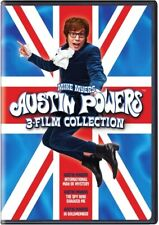 Austin Powers: 3-Film Collection (Dvd, Widescreen) Free Shipping!