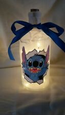 lilo and stitch light  bottle with LED  Lights