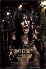 SKELETON CREW Movie POSTER 27x40 Rita Suomalainen Steve Porter Anna Alkiomaa