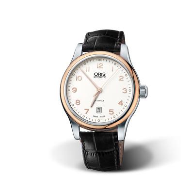 Reloj ORIS Classic Date 7594 - automatic swiss (Oris 733) sapphire