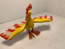 Rare 2001 Nintendo Hasbro Pokemon Moltres Combat Figure Used