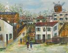 Maurice Utrillo The Maquis Of Montmartre Canvas Print 16 x 20    #4142