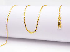 1PCS Wholesale 24inch 18K Yellow GOLD Filled Smooth CHAIN NECKLACES For Pendant