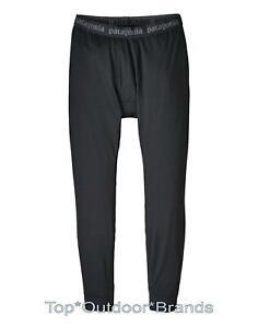 Men's PATAGONIA Capilene Midweight Bottoms #44486 BaseLayer Thermal Pants BLACK