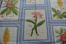 1 metre Abbott & Boyd 'Botanico' floral cotton fabric - RRP £45 per metre