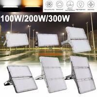 300W 200W 100W Ultra-Thin LED Flood Light Outdoor Garden Stadium Shop Lighting