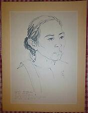 Vietnam Liberation Art - Mrs Muoi - A Canteen Keeper - Viet Cong - Nlf - 7