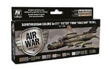 VAL71604 AV Vallejo Model Air Paint Set - Soviet Su-7/17 Fitter to 80's